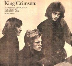 Peter Sinfield, Keith Tippett and Robert Fripp