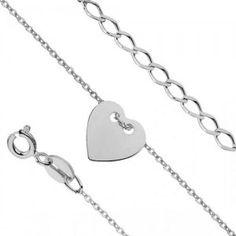 cd1939214 NR1237SS Srdce - strieborný náramok #supersperky #krasnesperky #sperky  #striebornesperky #naramok #srdiecko #jewelry #bracelet #heart  #silverjewelry