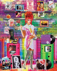 'Club Chameleon' #popart #digitalart #art #art #tastytim https://www.instagram.com/pop.art.place
