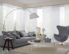 Wohnzimmer Flaechenvorhang Hellblau ❤ Vielfältige Plissees ❤ Bezaubernde  Flächenvorhänge ❤ Liebevolle Jalousien ❤ Tolle Gardinen ❤