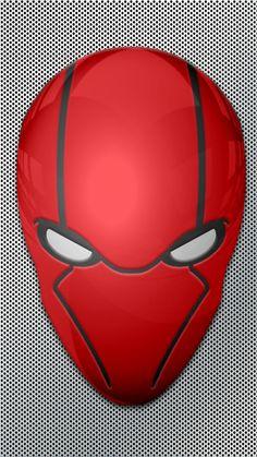 Red Hood Mask Wallpaper test 1 by KalEl7 on DeviantArt