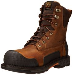 Ariat Men's Overdrive XTR 8' Steel Toe Work Boot * Tried it! Love it! Click the image. : Men's boots