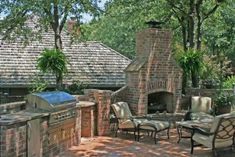 How to Build a Brick Outdoor Barbeque Grill | eHow