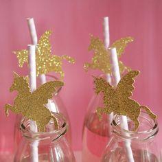 Stickers licorne pour customiser des pailles #diy #unicorn #stickers #party…