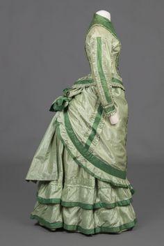 History of fashion - 1875-76
