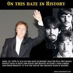 Which Beatle called it quits on this date? www.facebook.com/myfivebest