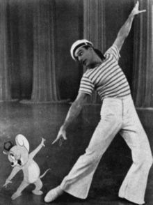 Gene Kelly was my hero when I was little... especially when he got to dance with Tom in Anchors Aweigh