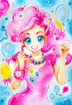 My little Pony: Pinkie Pie by Naschi.deviantart.com on @deviantART
