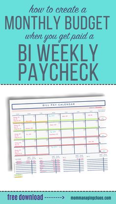 In this post I'll show you How to Budget Monthly Bills with Your BiWeekly Paycheck so you can find more ways to save money. Need to get started on a Biweekly Savings Plan for a Low Income? Then head over to the blog to read this post now. Don't forget to save your board dedicated to ways to save money so you can easily refer to it later. Tips to save money | Tips to save money ideas | Tips to save money pay off debt Budget Spreadsheet, Budget Binder, Monthly Budget, Budget Planner, Ways To Save Money, Money Tips, Money Saving Tips, Budgeting Finances, Budgeting Tips