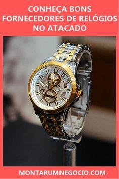23175fe5365 Confira onde comprar relógios no atacado para revenda! São bons  fornecedores de relógios para quem