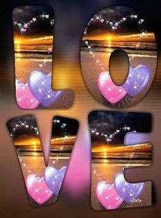 Flower Phone Wallpaper, Heart Wallpaper, Iphone Wallpaper, Love Wallpapers Romantic, Pretty Wallpapers, Love Heart Images, Sunset Love, Love Backgrounds, Purple Love