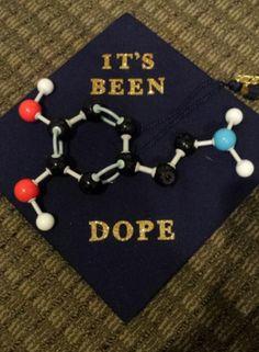 Dopamine graduation cap #dopamine #science #biology #graduate