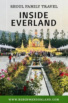 A day inside Everland Theme Park in Yongin South Korea including shuttle bus options and where to get discounted tickets #everland #south#korea #thingstodoinSeoul via @kgbinwanderland South Korea Travel, Asia Travel, Seoul Travel Guide, Travel Tips, Travel Ideas, Travel Inspiration, Travel Articles, Seoul Attractions, Cool Places To Visit