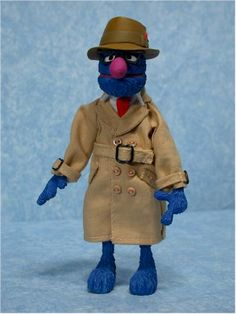 Sesame Street Super Grover action figure - Another Toy Review by Michael Crawford, Captain Toy