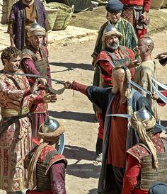 """Björn and Halfdan Vikings Tv Series, Vikings Tv Show, Viking Shop, Viking Age, Bracelet Viking, Viking Jewelry, Statues, Anglo Saxon Kingdoms, Sons Of Ragnar"