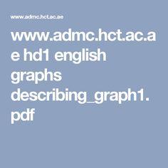 www.admc.hct.ac.ae hd1 english graphs describing_graph1.pdf Global Warming, Pdf, English, Kid Stuff, Charts, Graphics, English Language