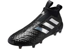 adidas Ace 17+ Purecontrol. Get them from SoccerPro in all black! Soccer  Shoes 199a66c19