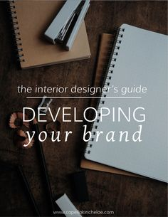 Comprehesive guide to branding your interior design business, use the branding checklist to make sure you are using your unique interior design business to it's fullest potential.