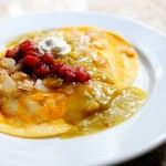 Pioneer Woman Green Chile Enchiladas