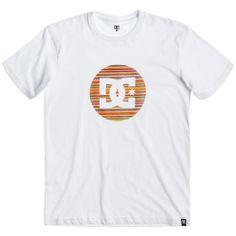 DC Shoes Urban Plys SS tee-shirt de skate white / motifs bois de skateboard…