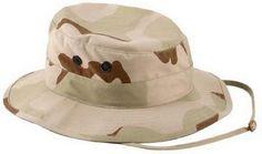 Camouflage Boonie Hats Tri-Color Desert Camo Boonie Hat 7db355063648