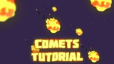 After Effects – Creating Space Comets Tutorial