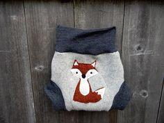fox diaper cover