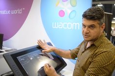 How to Set Up Your Cintiq for Digital Painting with Shaddy Safadi. #digitalart #wacom