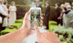 A personal favorite from my Etsy shop https://www.etsy.com/listing/488922288/customizable-snapchat-wedding-geofilter