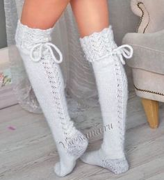 {Look for a remarkable variety of ladies knee extremely high boots, check awol, rainfall, driving shoes and a lot more. Cable Knit Socks, Crochet Socks, Knitting Socks, Knitted Hats, Crochet Patterns Free Women, Knee High Stockings, Winter Boots Outfits, Over The Knee Boot Outfit, Argyle Socks