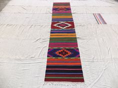 "Colorful Kilim Rug Runner,9,6""x2"" Feet 290x60 Cm Home Decor Colorful Turkish Kilim Rug Runner,Anatolian Narrow Runner Rug."