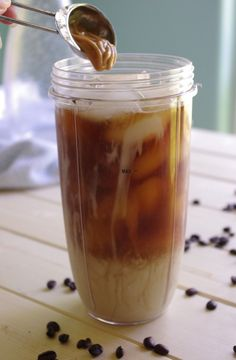 Easy french vanilla iced coffee recipe