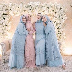 Hijab Dress Party, Hijab Style Dress, Casual Hijab Outfit, Dress Outfits, Abaya Style, Dresses, Hijab Fashion Summer, Muslim Fashion, Abaya Fashion