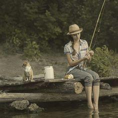 fishermen by David D