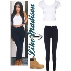 Like madison beer Madison Beer Style, Zendaya, Black Jeans, Pants, Image, Fashion, Moda, Trousers, Fashion Styles