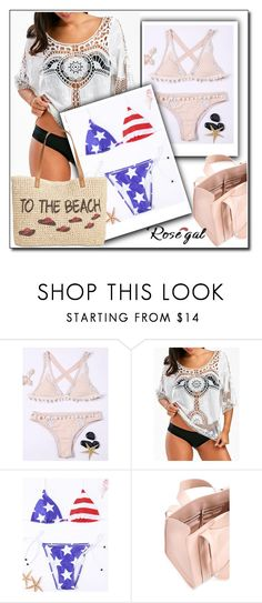 """""""Pool party"""" by azra-90 ❤ liked on Polyvore featuring Corto Moltedo and Style & Co."""