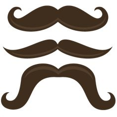 Mustache Mania - SVG files for scrapbooking