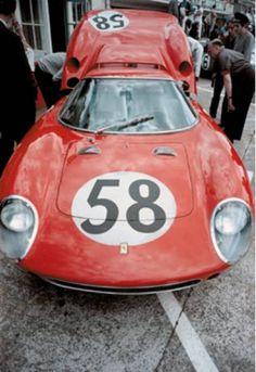 1964 #Ferrari 250 LM #italiandesign [5909] Ferrari (3.286 cc.) (A) David Piper Jochen Rindt