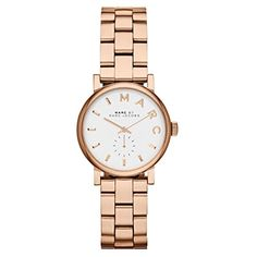 MBM3248 Marc By Marc Jacobs Baker Mini Rose GoldTone Ladies Watch -- Be sure to check out this awesome product. (This is an affiliate link)