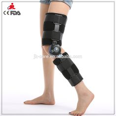 Multi-directional knee traction Post OP rehabilitation Knee Brace orthopedic knee support as seen on TV with CE FDA Bow Legged Correction, Combat Suit, Sprained Ankle, Knee Brace, Pinterest Photos, See On Tv, Feet Care, Braces, Bridge