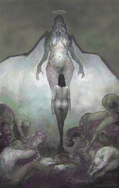 The Call of Cthulhu by TristanBerndtArt.deviantart.com on @deviantART