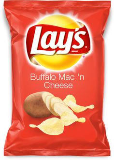 Buffalo Mac 'n Cheese Potato Chips or any other Lays flavor