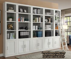 Bookcase, Library Wall, Bookcase Wall, Home Office Furniture, Parker House, Bookcase Design, Shelving, Home Decor, Furniture Layout
