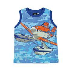 Camiseta de Aviones. Ideal para ir a la playa, a la piscina o de paseo con su personaje favorito. En www.tinoytina.com