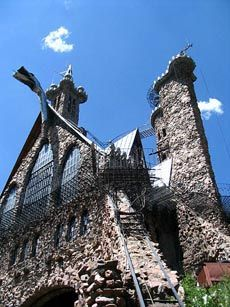 Bishops Castle in southern Colorado. Made from cement, iron, and local rocks by one man, mostly by hand