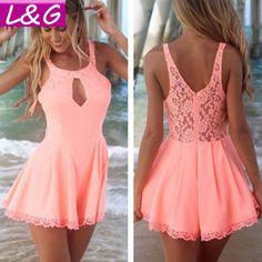 novas mulheres vestido de verão venda quente sexy 2014 esvazie chiffon do laço vestidos vestidos caros partido roupas femininas 10134 venda US $17.79
