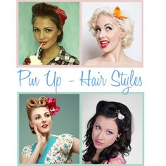 Pin Up - Hair Styles