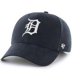 b9746c57aa280 Detroit Tigers  47 Infant Basic Logo Adjustable Hat - Navy