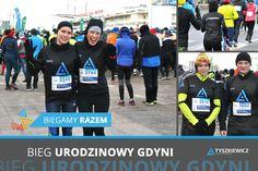 Team biegowy #Tyszkiewcz - znowu na starcie! 💪💪💪😊 Wyjątkowo mroźne❄️, morskie powietrze, w niedzielny poranek, dało się odczuć na twarzach biegaczy. Kilka tysięcy osób pokonało tego dnia dystans 10km🏃, w corocznym Biegu Urodzinowym Gdyni. Niedzielny bieg był prawdziwym sprawdzianem formy. Cała drużyna ukończyła bieg ze świetnymi wynikami, i czerwonymi od mrozu policzkami 😳😊👍 Jest świetna forma i plan na kolejne w tym roku starty.  www.tyszkiewicz.pl - siła w drużynie! 💪 Inspiration, Biblical Inspiration, Inspirational, Inhalation