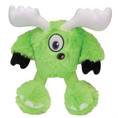 Quaker Pet GoDog Yetis - Green Monster Mini with Chew Guard Technology